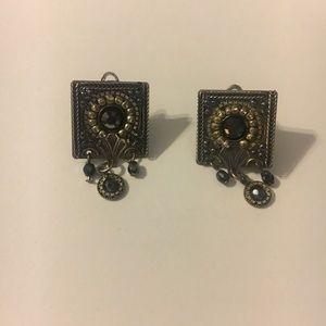 Jewelry - Beautiful Antique Clip Earrings